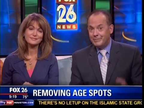 Fox 26 interviews Dr. Lou about how to remove age spots.