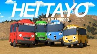 vuclip Hei Tayo Bahasa l Tayo Lagu Pembukaan Tema Kompilasi l lagu untuk anak-anak l Tayo bus kecil