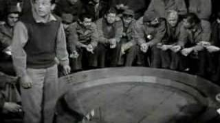 Mouse race from the 1953 movie Stalag 17