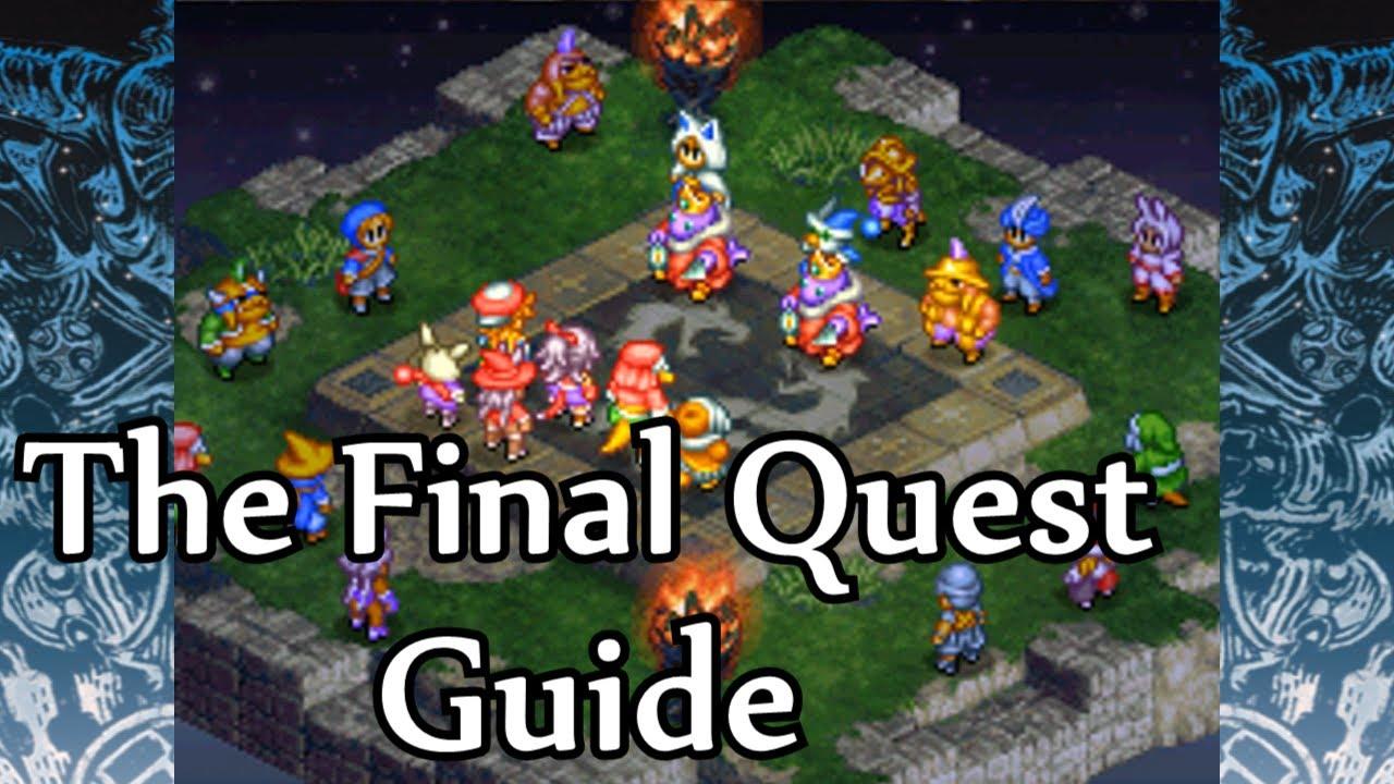 Final Fantasy Tactics A2 The Final Quest Guide
