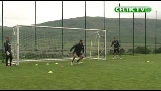 Celtic Goalkeeper Training