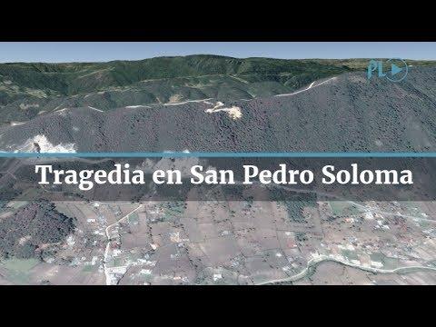 Tragedia en San Pedro Soloma