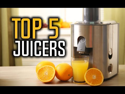 Best Juicers in 2017 with Reviews!