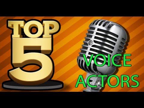 TOP 5 VOICE OVER ACTORS IN VIDEO GAMES - YouTube