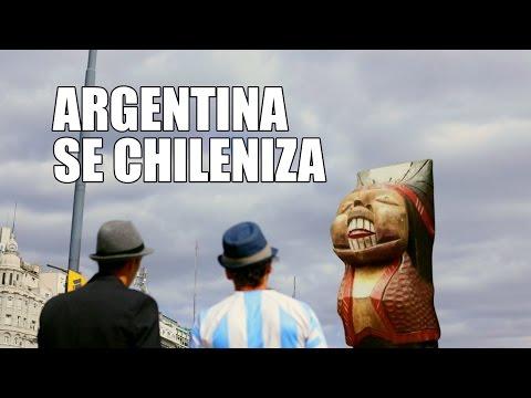 un humorista argentino radicado en chile revive a gardel y se burla de la seleccion