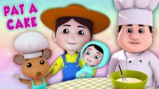Pat ein Kuchen | Lied für Kinder | Nursery Rhymes | Pat A Cake