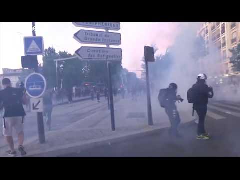 صدامات في باريس على هامش تظاهرة ضد عنف الشرطة والعنصرية…  - نشر قبل 3 ساعة