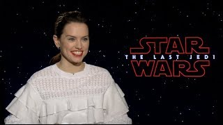 STAR WARS: THE LAST JEDI interviews - Ridley, Johnson, Boyega, Isaac, Dern, Tran, Serkis, Christie