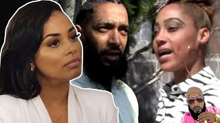 Nipsey Hussle\'s Baby Mama WANTS SMOKE With Lauren London CLAPS ON IG Comments