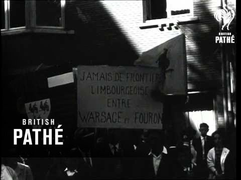 Demonstration By French Speaking Belgians (1963)