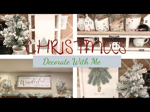 DECORATE WITH ME CHRISTMAS 2019 | KITCHEN CHRISTMAS DECORATING!
