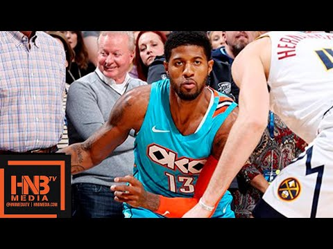 Oklahoma City Thunder vs Denver Nuggets Full Game Highlights | 11.24.2018, NBA Season