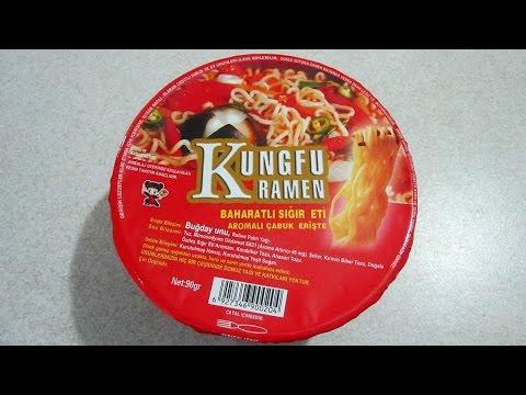 Kungfu Ramen Baharatlı Sığır Eti Aromalı Noodle