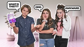 Asking GIRLS Awkward Questions CHALLENGE **THE TRUTH EXPOSED**😱😂|Hayden Haas