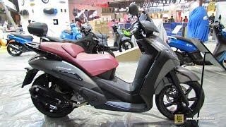2015 Peugeot Geopolis 300 Scooter - Walkaround - 2014 EICMA Milan Motorcycle Exhibition
