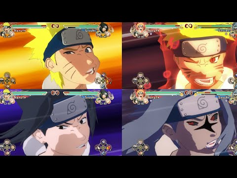 All Ultimate Impact Slap's On All Characters-Naruto Ultimate Ninja Storm[Storm Trilogy PS4]