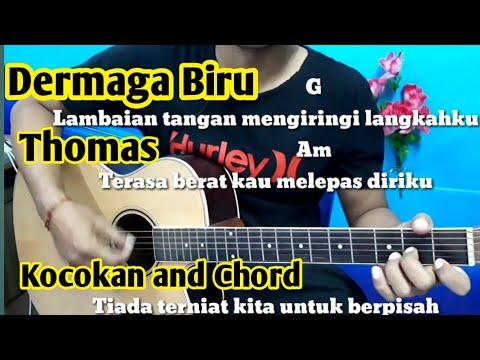 Chord Mudah Dermaga Biru Thomas Arya By Darmawan Gitar Tutorial Mudah Untuk Pemula Youtube