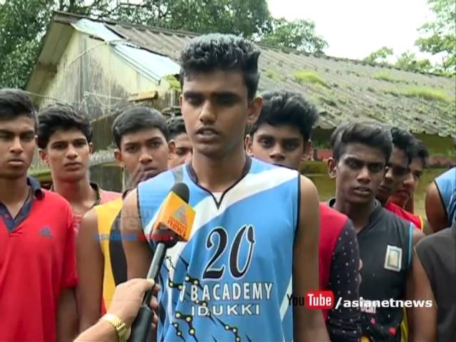 Pathetic condition of Idukki volley ball academy hostel