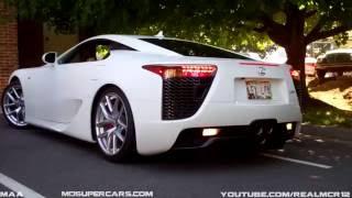 【和製スーパーカーまとめ】新型NSXとLFA、GTRのエンジン始動音、加速音...
