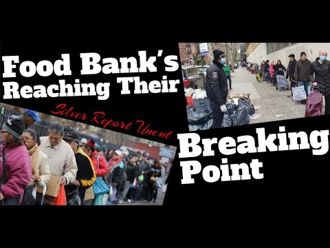 Food Banks Overwhelmed 1/8 NYC Residents Turn Desperate For Food,  Little At A Time Then All At Once