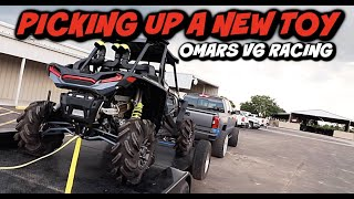 PICKING UP A TOY FOR TRIPPLE P Omars truck Racing With The (TURBO V6)