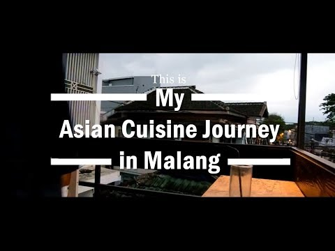OALS 2018 - My Asian Cuisine Journey in Malang