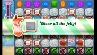 Candy Crush Saga Level 929 walkthrough (no boosters)