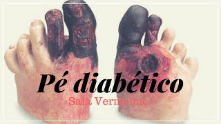 Do diabetes infecção pé dos do dedos