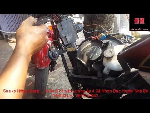 Sửa Xe Cùi Bắp _Giới Thiệu Hệ Thống điện Trên Xe Honda Air Blade