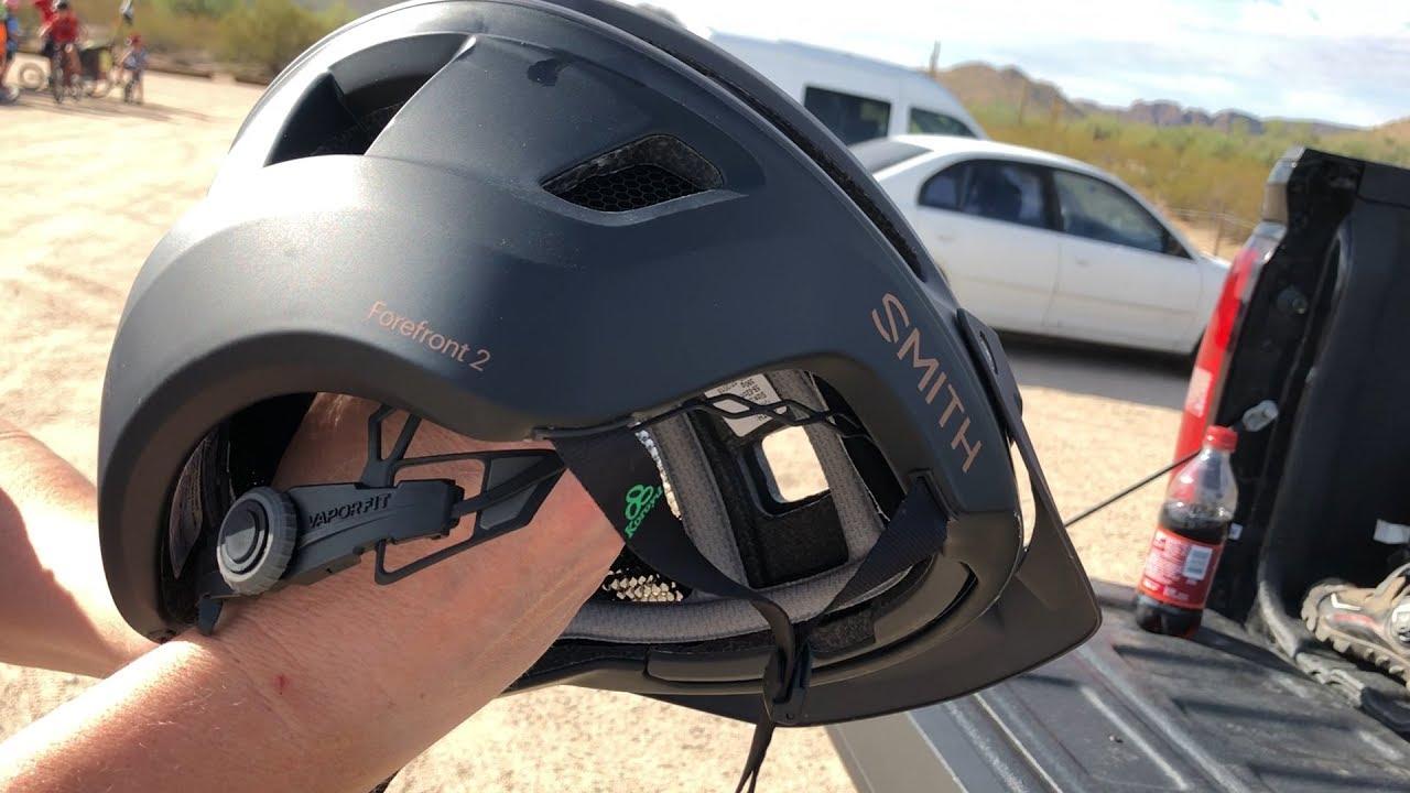 E1 19 Review Of Smith Optics Forefront 2 Helmet Youtube