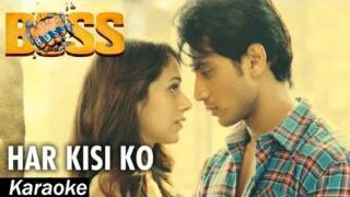 Har kisi ko nahi milta (boss) karaoke