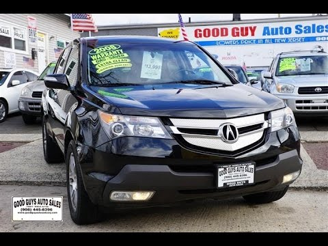 Acura Mdx For Sale In Nj >> 2008 Acura Mdx Sh Awd Linden Nj Good Guy Auto Sales