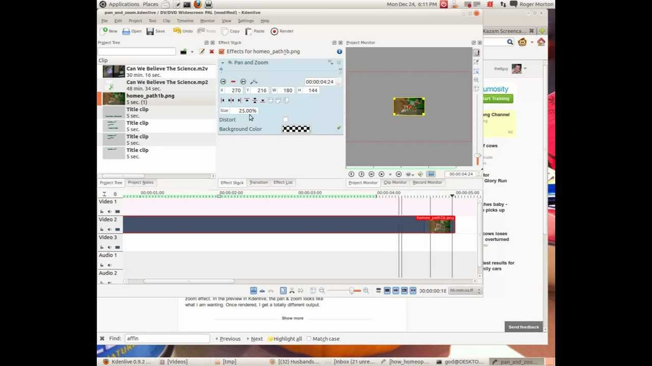 Kdenlive/Manual/Effects/Crop and transform/Pan and Zoom - KDE