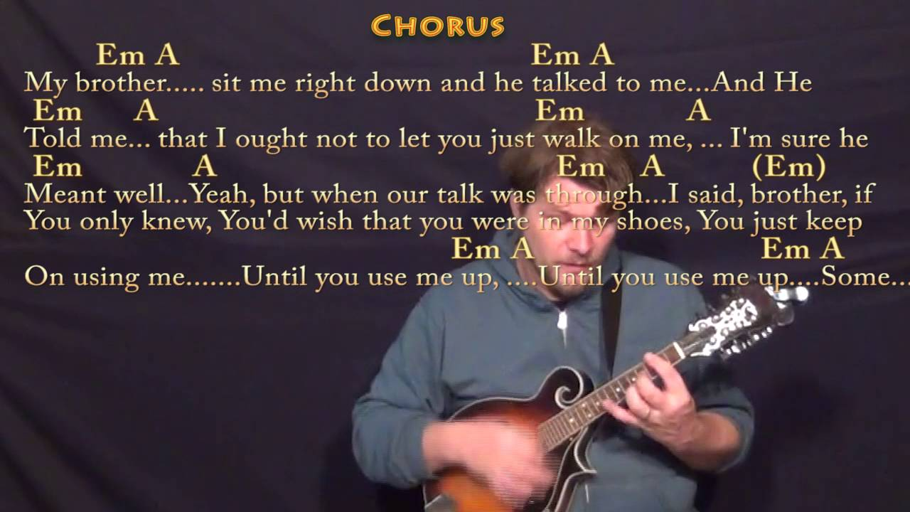 Use me bill withers mandolin cover lesson with chordslyrics use me bill withers mandolin cover lesson with chordslyrics hexwebz Image collections