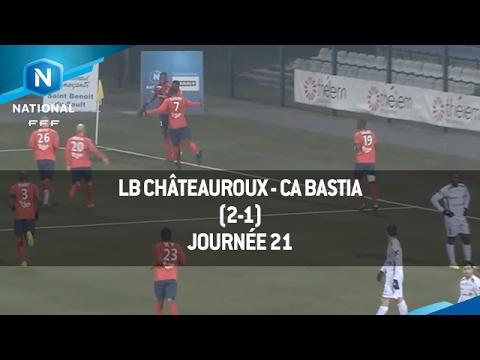 J21 : LB Châteauroux - CA Bastia (5-0), le résumé