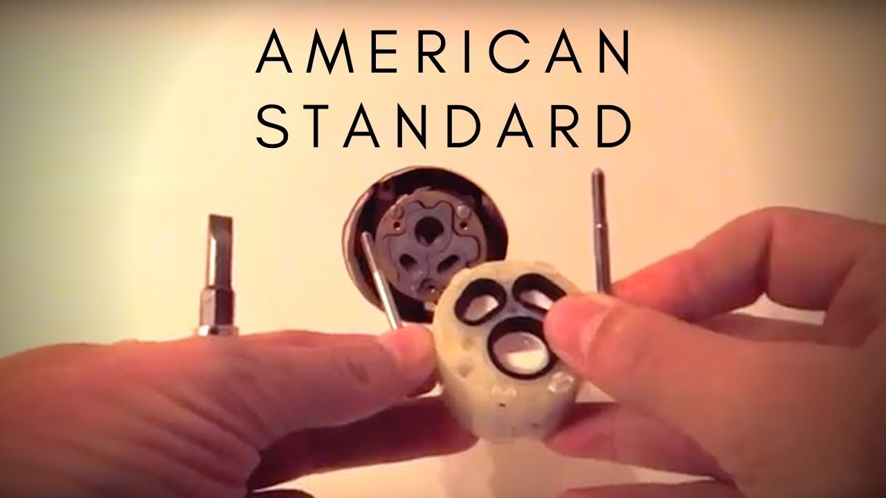 how to replace shower cartridge american standard