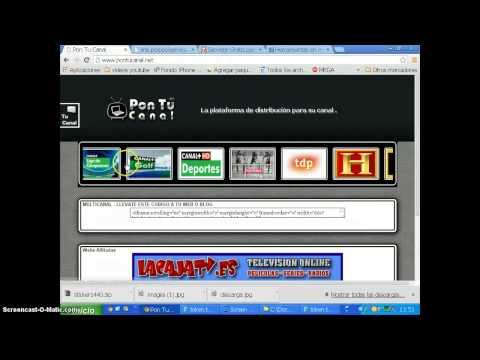 Tutorial cómo obtener el RTMP de un streaming para simpleTV por schuster92 | FunnyDog.TV