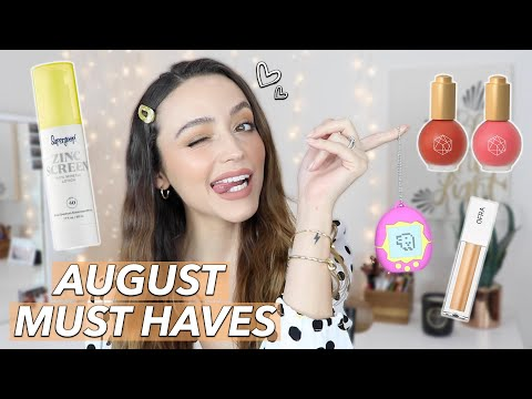 AUGUST FAVORITES | 2019 thumbnail