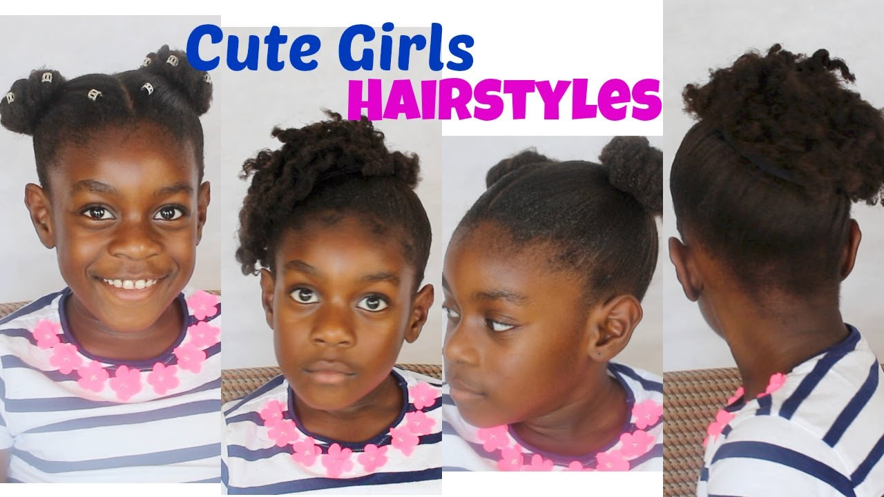 Cute Girls Natural Hairstyles // Teen/College/ Back to School-- / neknatural