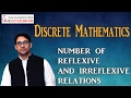 Number Of Reflexive And Irreflexive Relations