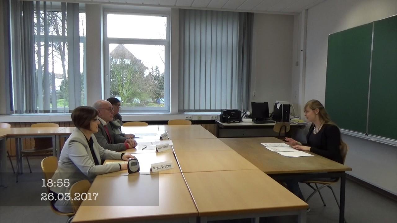 Mündliche Musterprüfung Report Büromanagement