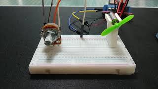 [Arduino] 가변저항으로 DC모터 돌리기 (DC …