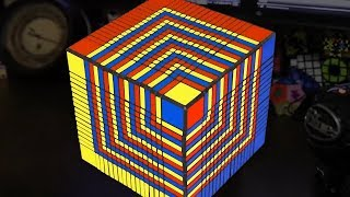 El Cubo Rubik más grande del mundo
