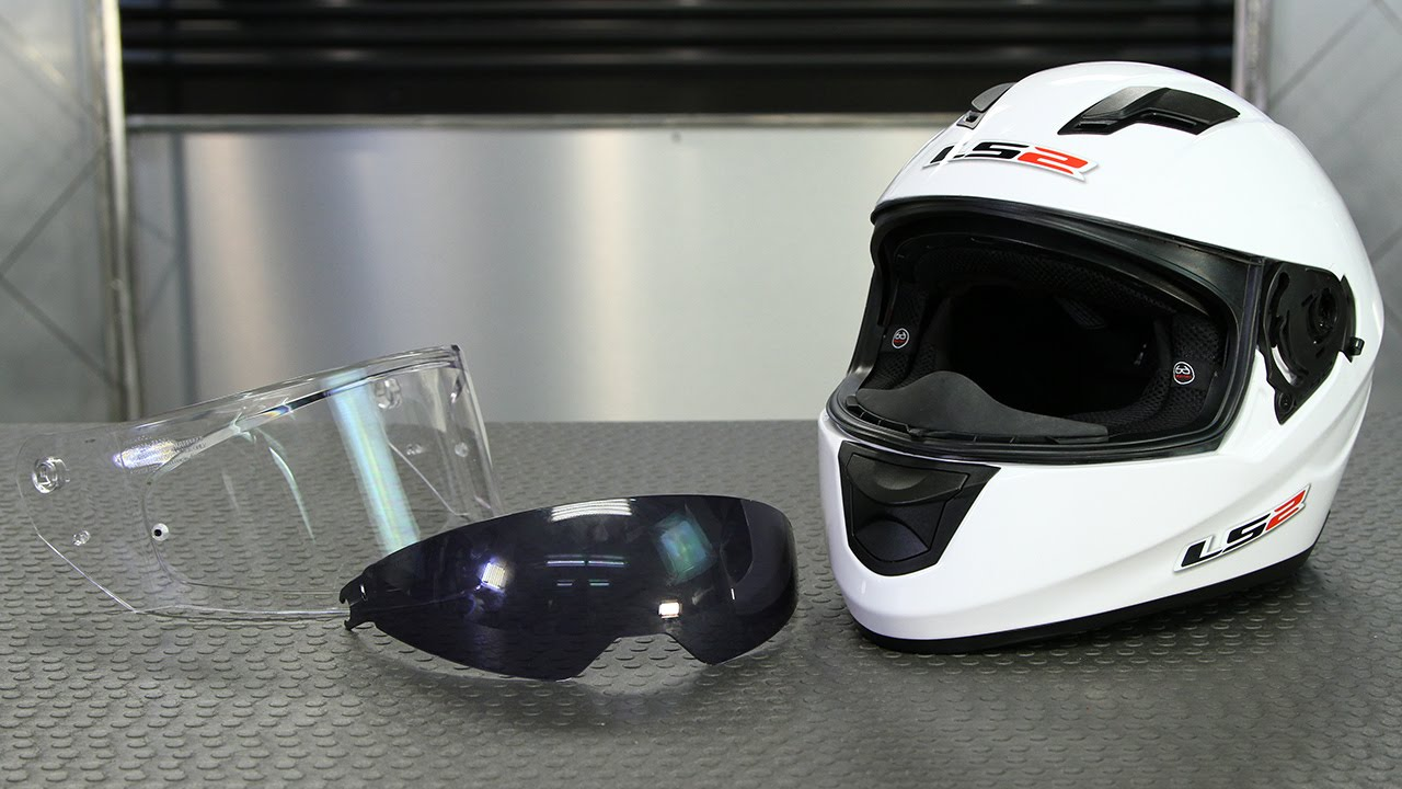 How To: Change the LS2 Stream Helmet Shield | Motorcycle Superstore ...