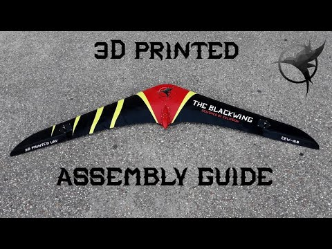 The Blackwing - 3d printed flying wing -Assembly guide