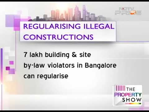Advocate S Selvakumar on NDTV to Regularising Illegal buildings at Bangalore