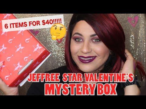 JEFFREE STAR VALENTINES MYSTERY BOX $40 PREMIUM BOX | ?SCAM?! thumbnail