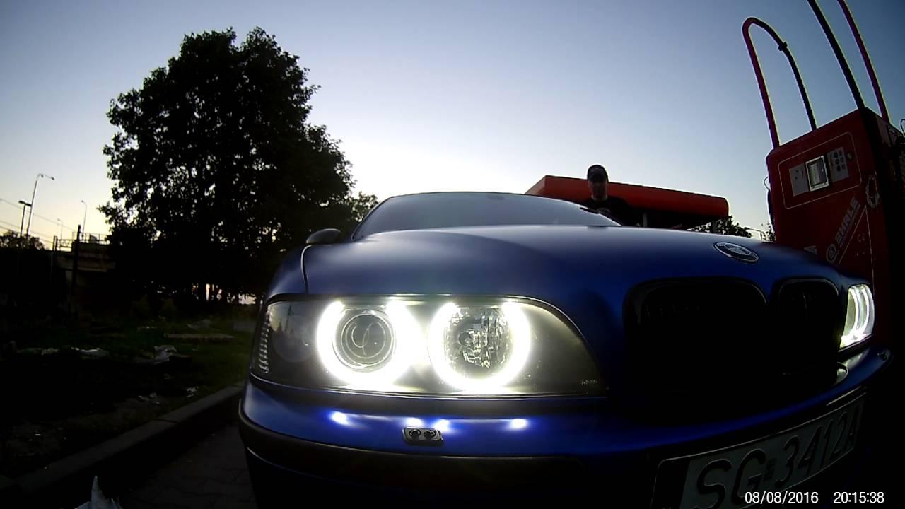 Ringi led smd II moduł + led headlight h7 e39 - YouTube