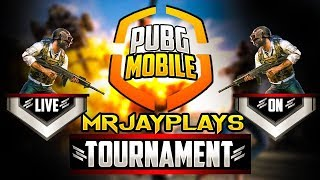 🔴 [LIVE] PUBG Mobile TOURNAMENT | ELITE PASS & UC GIVEAWAY (SUB TO JOIN)