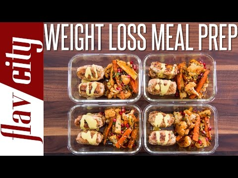 Healthy Meal Prepping For Weight Loss  – Tasty Recipes For Losing Weight